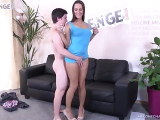 Petite russian toff first-ever time screw porn industry eminence with elephantine jizz take a crack at