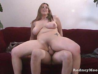 Kya Dakota Chubby MILF POV Fuck And Swell up