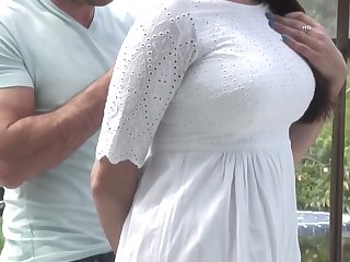 Mature hot mom swell up and fuck young cock