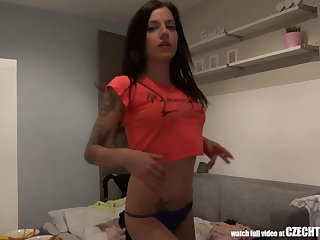 Unbeliavable 100% Czech Matched set Fuck Stranger