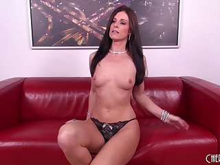 Sexy MILF Inda Summer cums all over his stiff dick