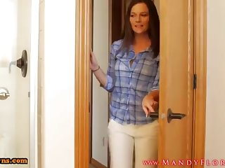 STEPMOMLOVER.COM: mommy training protrude to her sonnie several