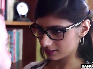 BANGBROS - Mia Khalifa is Back together with Sexier Than Ever! Check Redness Out!