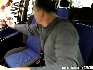 CZECH BITCH - Real WHORE Get Paid for Coition between Trucks