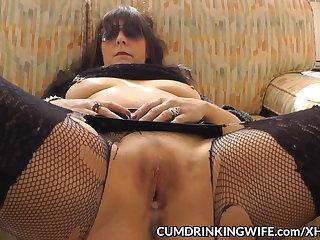Slutwife creampied by plenty for guys