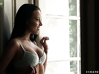 Fervent Hungarian nympho Lexi Layo gets fucked by her romantic neighbor